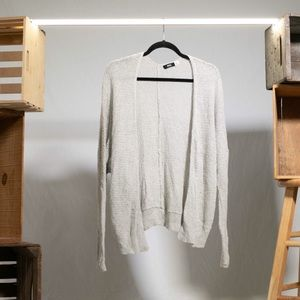 Cozy Grey Knit Cardigan by Urban Outfitters